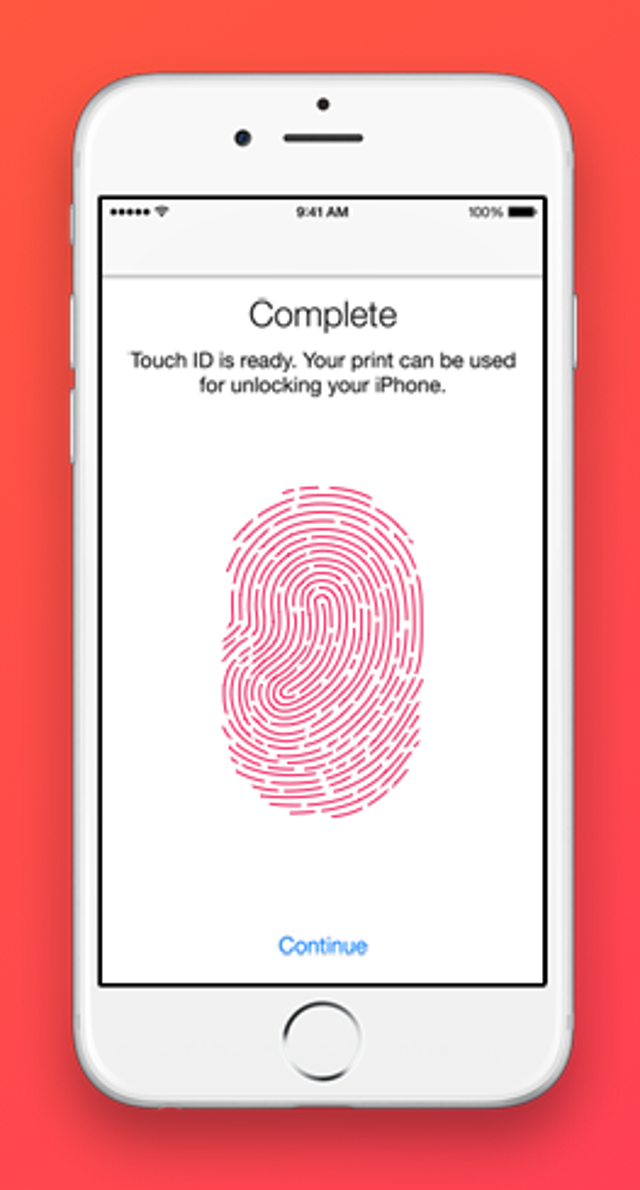 Improved Touch ID