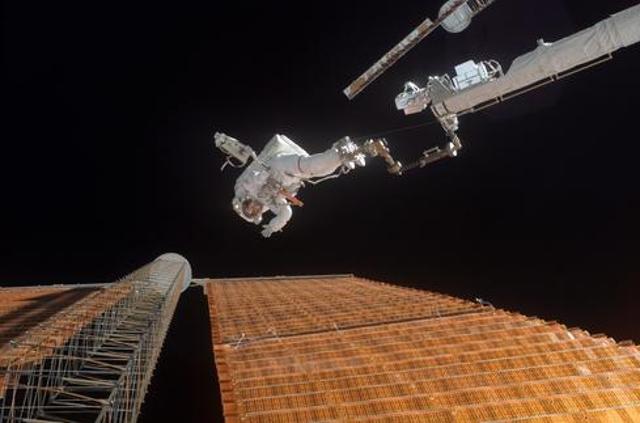 Repairs High Above Earth