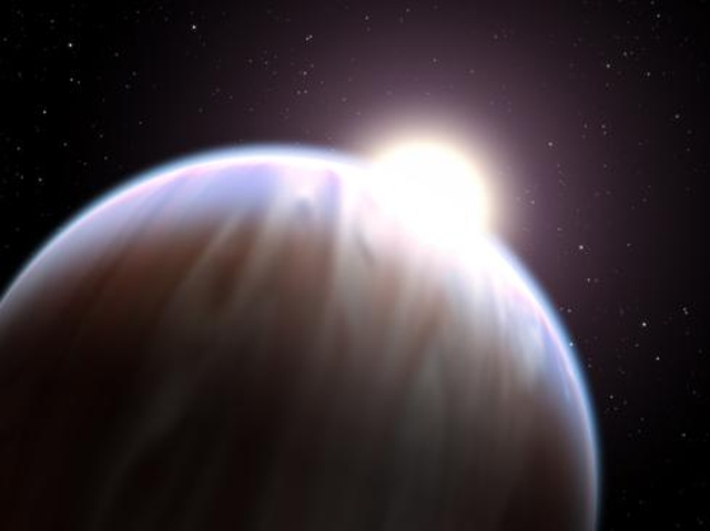 Organic molecule on exoplanet
