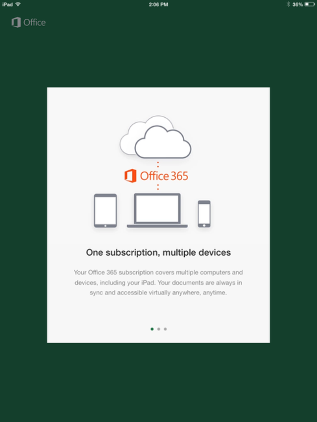 Should I be annoyed that I need Office 365 for most features?Not really. True, it's easy to look at Office 365 with a certain