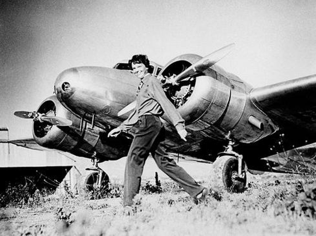 Everyone knows the story of Amelia Earhart, the renowned pilot who attempted to become the first woman to fly around the worl