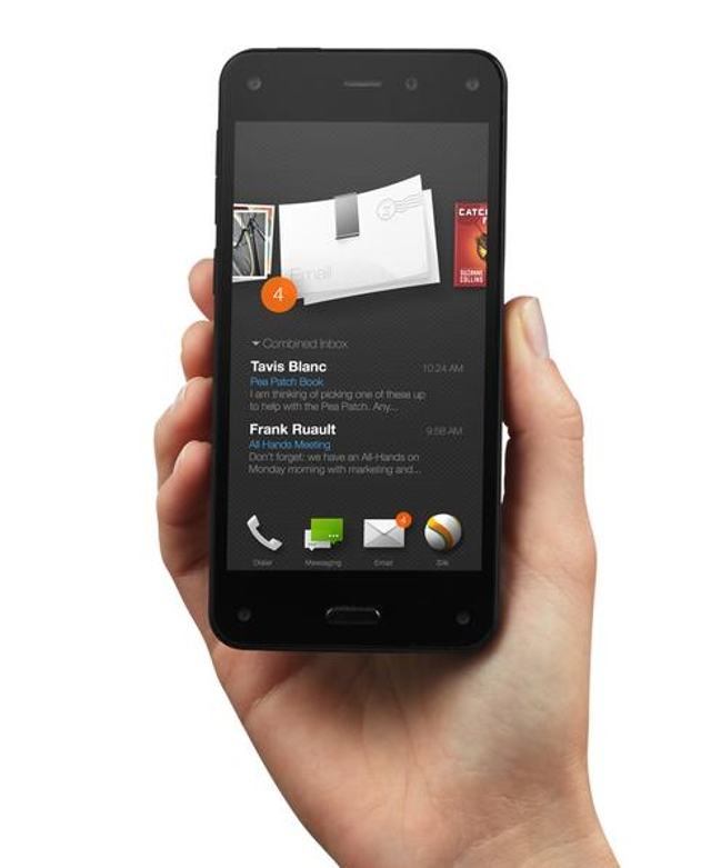 AlertsAmazon's smartphone runs Fire OS, which is different from the standard Android operating system. This image shows how A