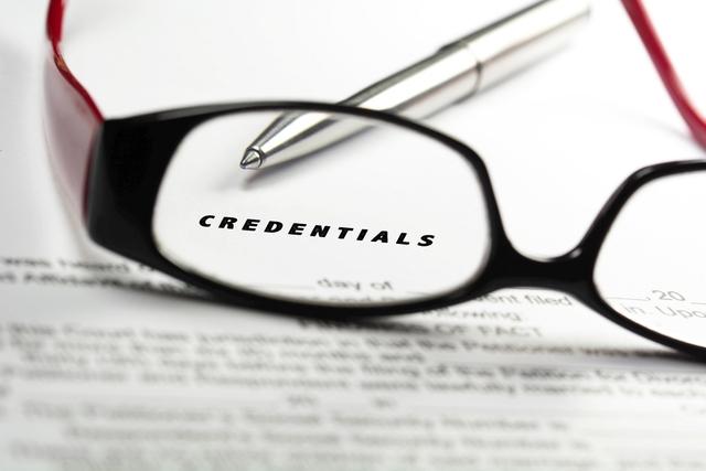 Make Sure the Credentials Are Genuine