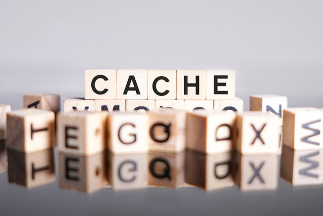 Clean out the cache on your computer