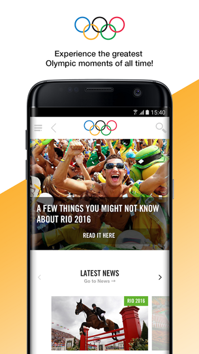 Olympics -- Official App
