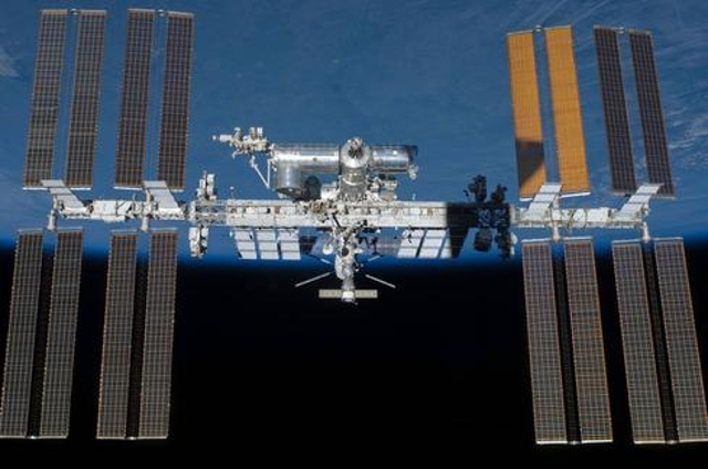 The ISS In Final, Spectacular Form