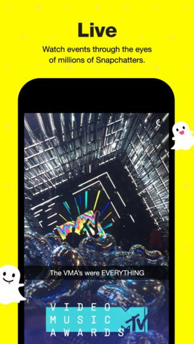 Snapchat Lets You Share Moments For A Moment