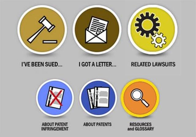 Patent litigation center