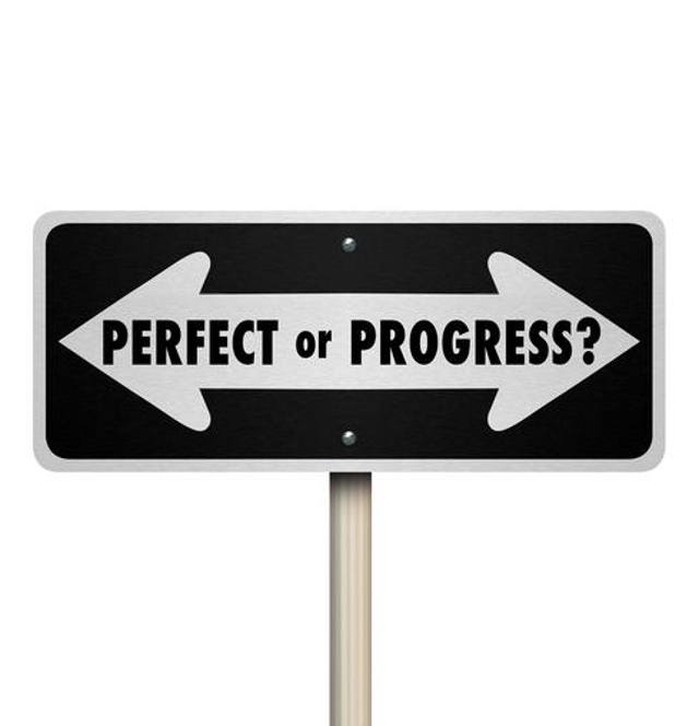 Aim For Improvement, Not Perfection