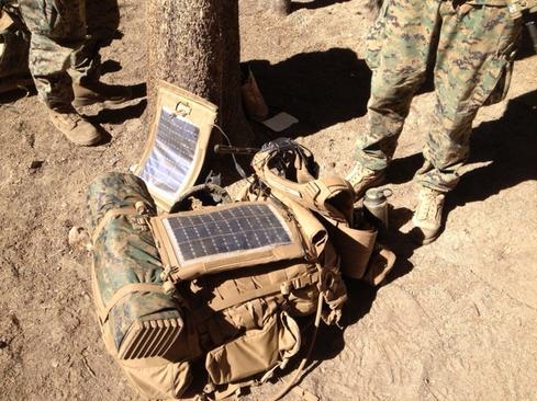 Solar-Powered Wearable Tech Lightens Marines' Loads