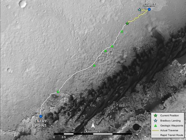 NASA's Mars roverNASA's Mars rover Curiosity can function autonomously. Last August, for the first time, the rover used auto