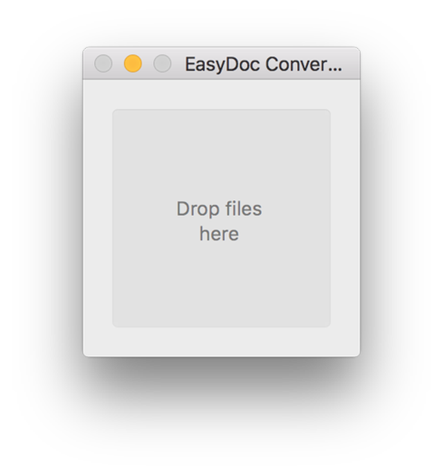 1. The malware hides in an EasyDoc Converter application.
