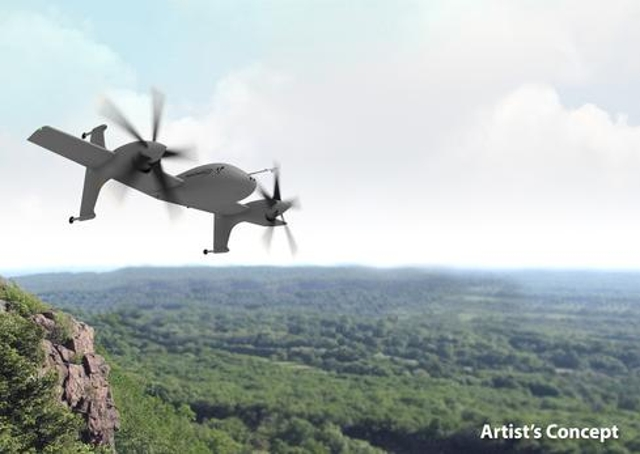 Rotor Blown WingSikorsky teamed up with Lockheed Martin's Skunk Works to develop its Unmanned Rotor Blown Wing concept. The R