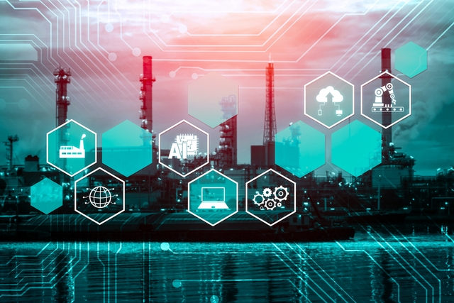 supply chain concept icon