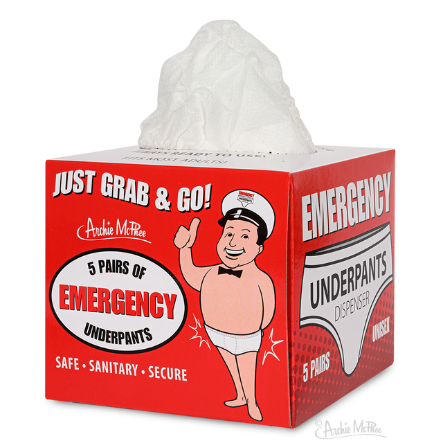 Emergency Underpants Dispenser
