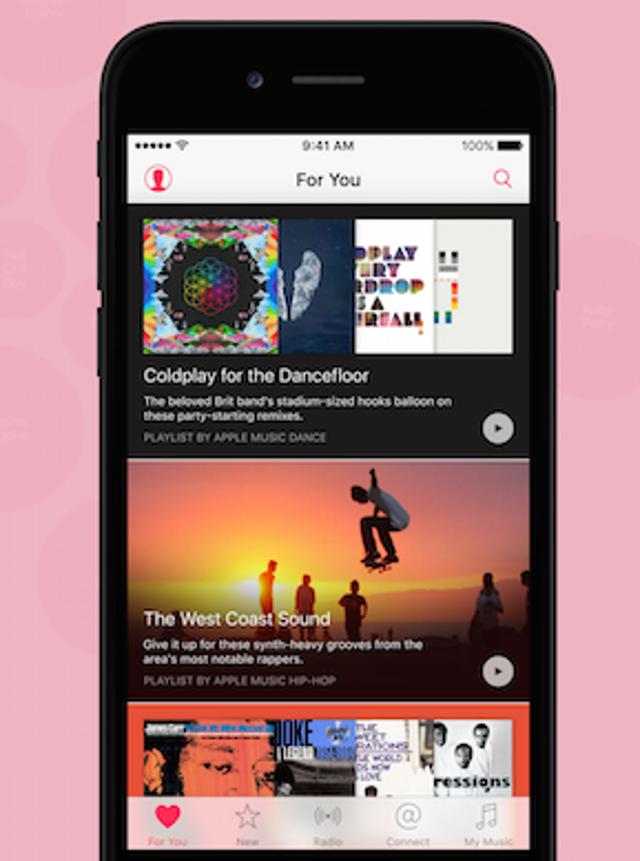 iOS 10: Apple Music Redesign