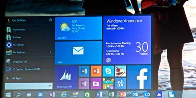 The Start Menu is back and more customizable than ever.