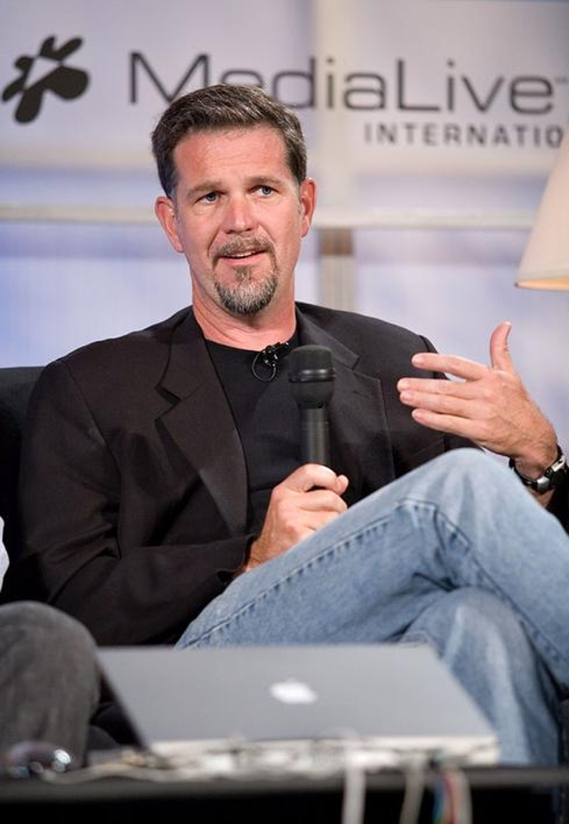 5. Reed Hastings, Netflix Co-Founder And CEO