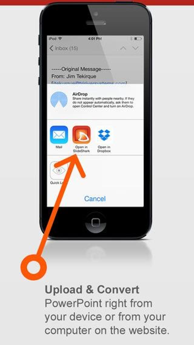 SlideShark Carries PowerPoint In Your Pocket