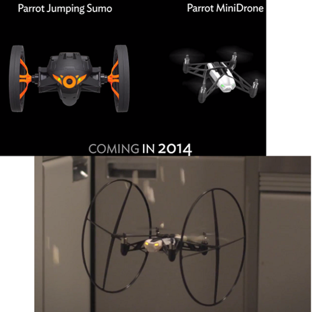 Parrot's Jumping Sumo and MiniDrone