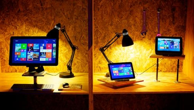 When Windows 8 launched, most of Microsoft and Intel's partners dutifully fell in line, talking about how touchscreens were g