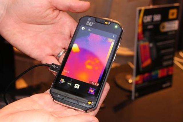 CAT S60 With Thermal Camera