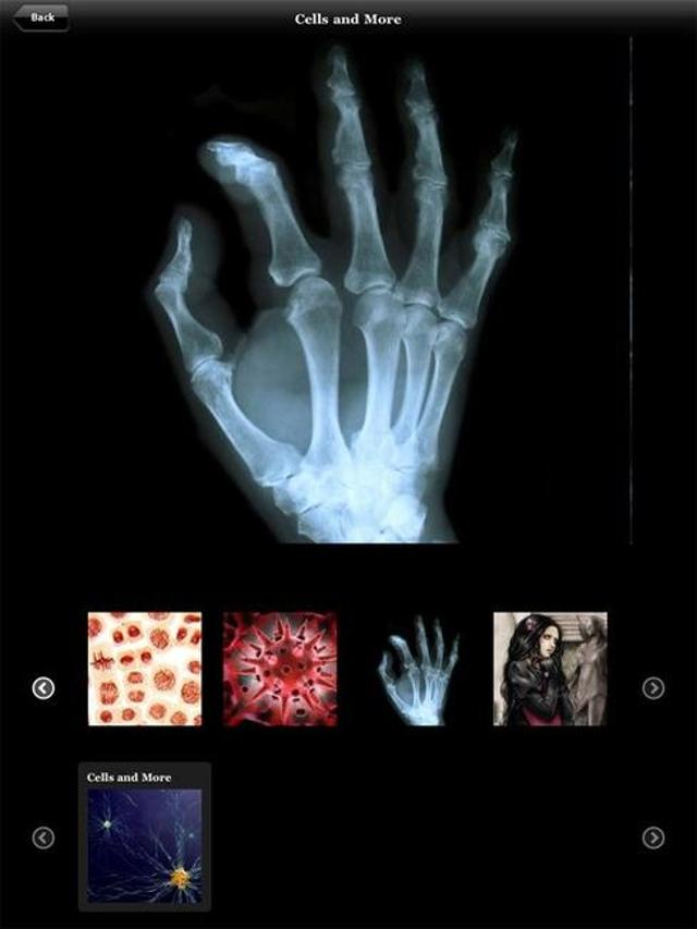 LoungePad: info on an iPad