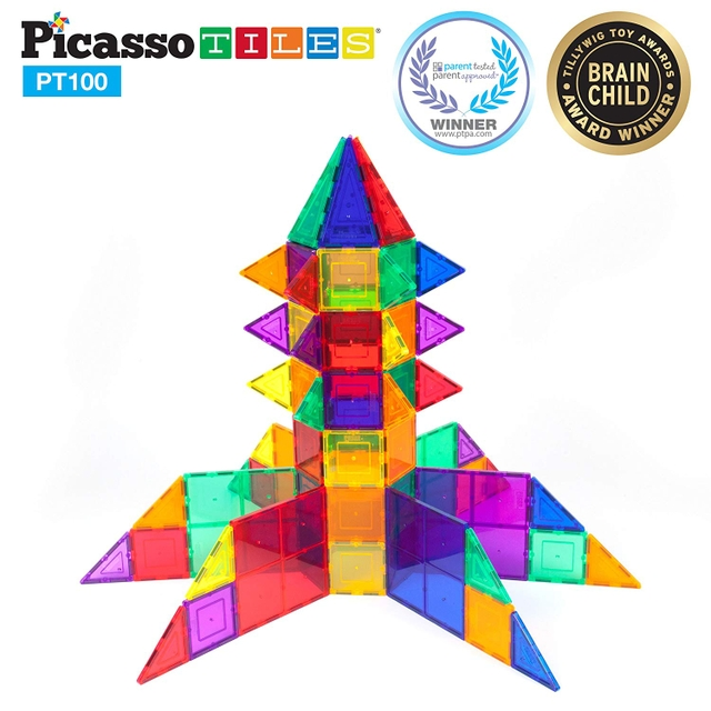 Picasso Tiles    Price: $51.99  Ages: 2 years and up