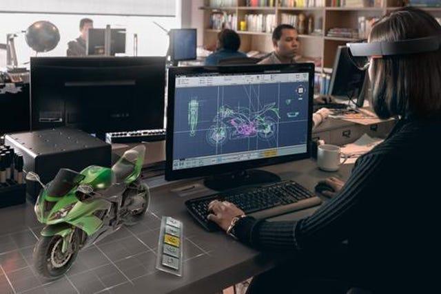 Microsoft HoloLens Debut