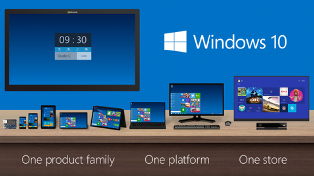 Windows 10 will run on almost everything.