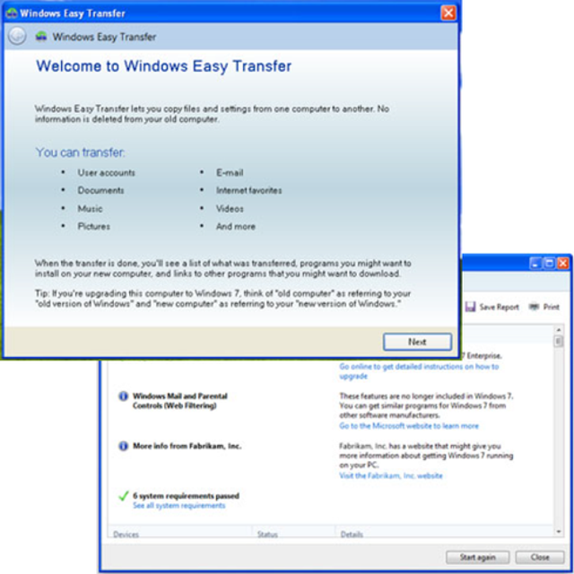 Take the Windows 7 upgrade path