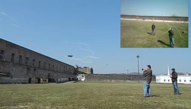 Drone Net Gun