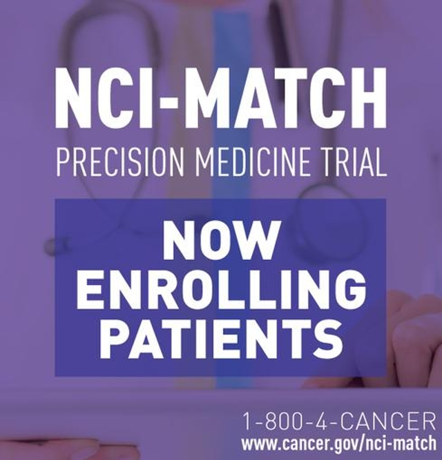 National Cancer Institute-Molecular Analysis For Therapy Choice (NCI-Match) Trial