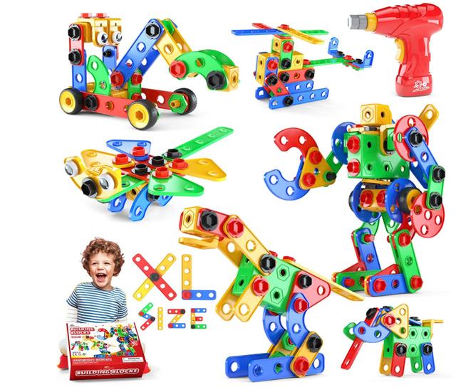 Jasonwell STEM Toys Building Blocks