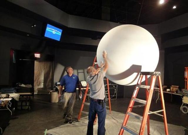 Sphere setup