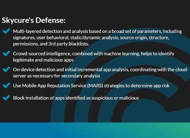 Skycure Mobile Threat Defense