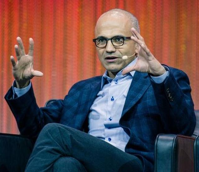 1. Satya Nadella, Microsoft CEO