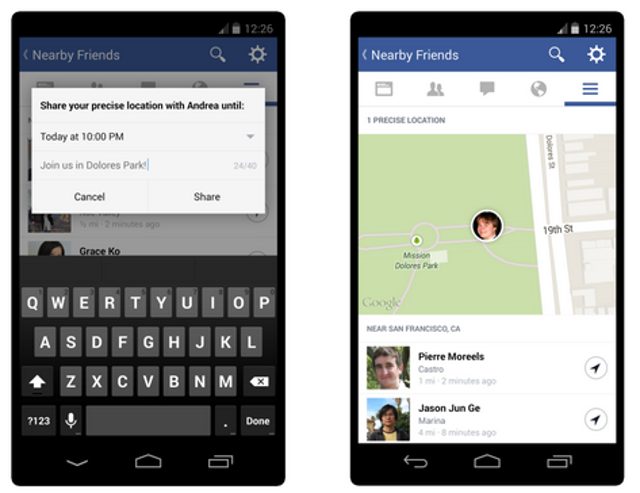 Delete your location information from Nearby FriendsOne of Facebook's newest features, called Nearby Friends, alerts your fri