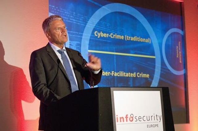 Cybercrime-related discussions loomed large during the conference. During the opening keynote presentation, Troels Oerting, t