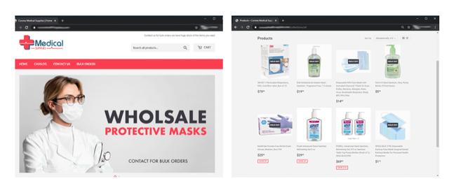 Face Masks and Medical Supplies