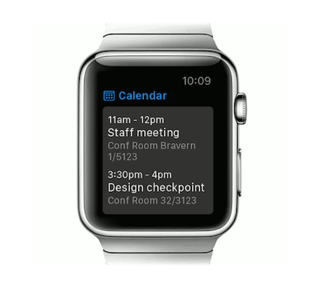 Microsoft Office Supports Apple Watch