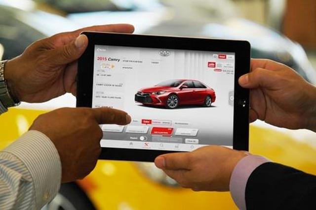 Toyota's Sales Tools Lets Dealers 'Go Places'