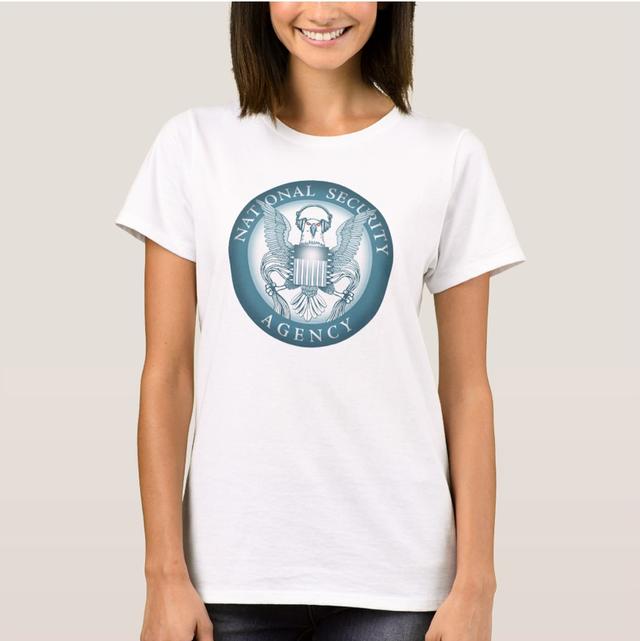 NSA Earphone Shirt