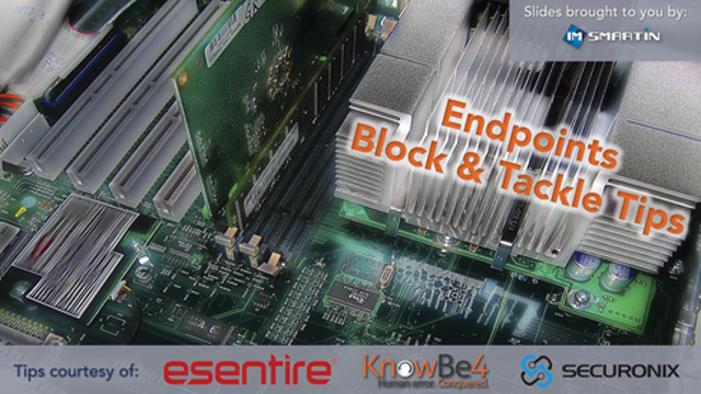 Endpoints: Block & Tackle