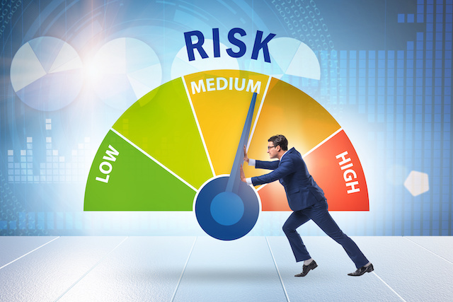 Identify the people who present the most risk.