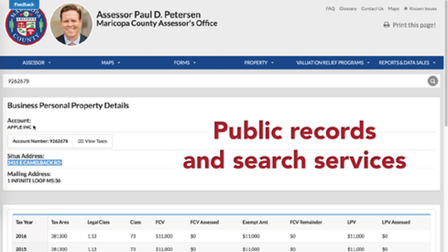 Source: State/County Public Records