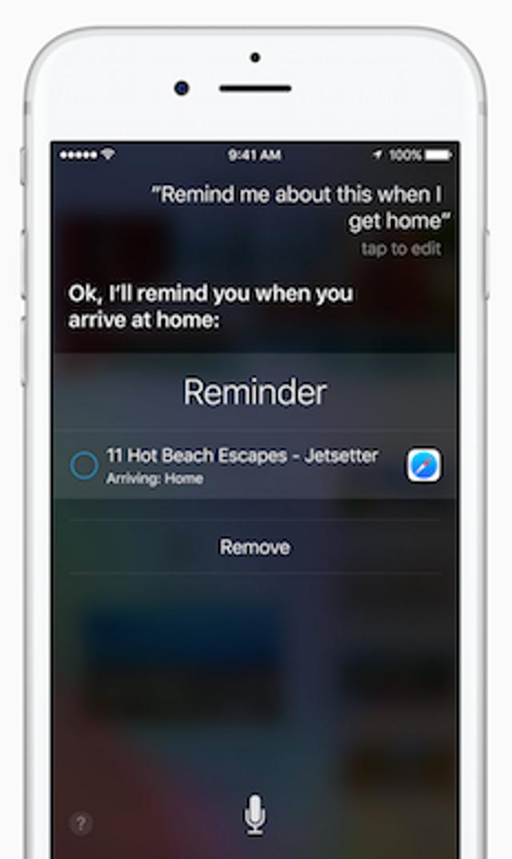 Siri Updates