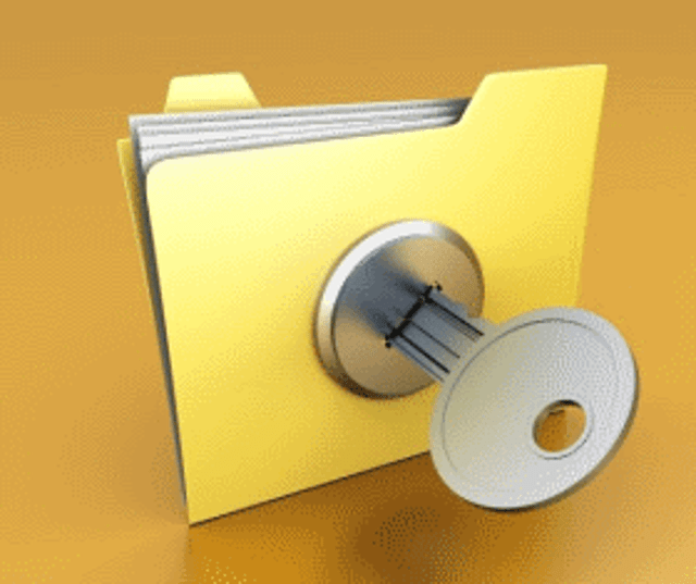 1. File and folder encryption