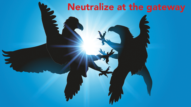 Neutralize active code at the gateway