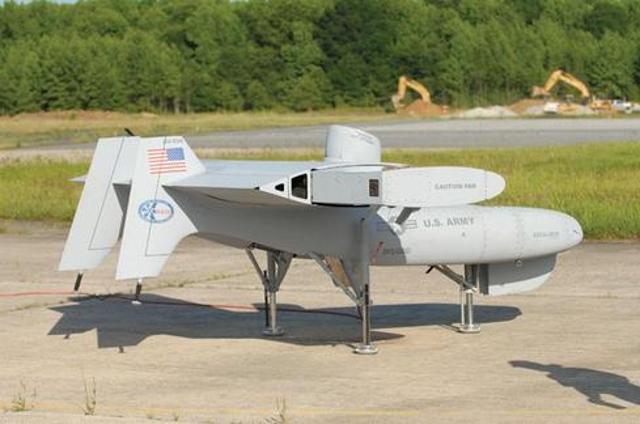 LightningStrikeAurora's VTOL X-Plane, known as LightningStrike, was built with hover efficiency and speed in mind. LightningS